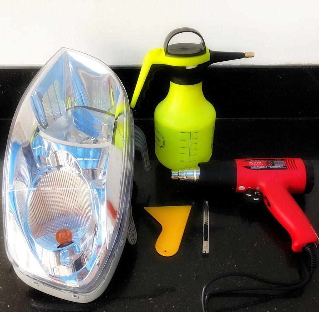 silverado headlights and tools