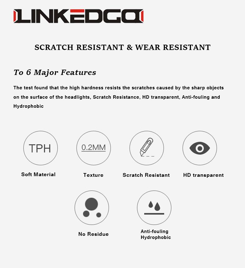 LinkedGo scratch resistant