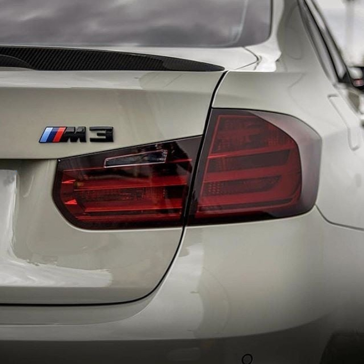 bmw smoked tail lights
