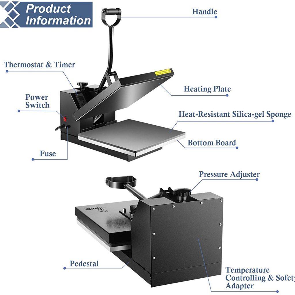 PowerPress Heat Press Mat 12x12 inch