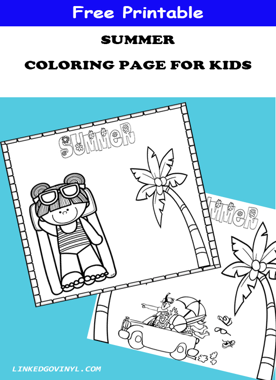 Free Printable Summer Coloring Pages For Kids LinkedGo Vinyl