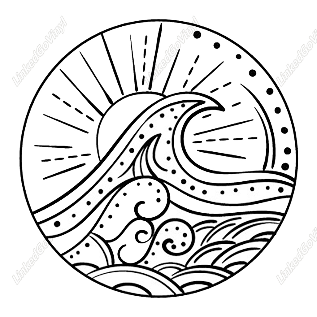 60+ Ocean Mandala Svg – SVG Bundles
