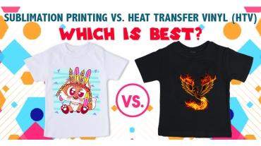 Heat Transfer vs. Sublimation Printing| T-Shirt Printing & More
