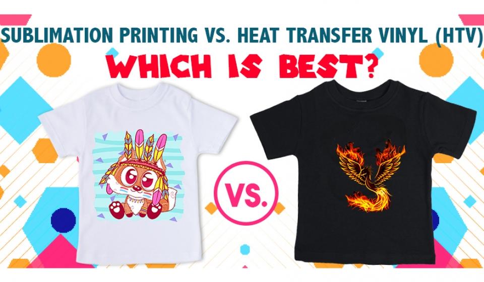 Heat Transfer vs. Sublimation Printing  T-Shirt Printing & More