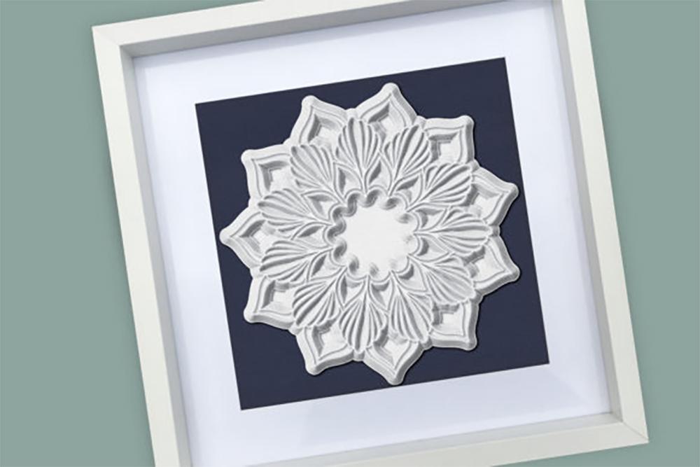 Download 3D Layered Mandala Graphic Free 3D SVG   LinkedGo Vinyl